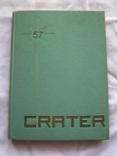 1957 MEDFORD HIGH SCHOOL YEARBOOK MEDFORD, OREGON  CRATER