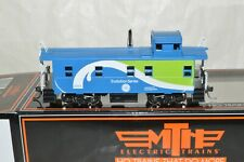HO scale MTH General Electric GEVO Evolution locomotives caboose car train