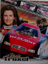 MELANIE TROXEL SIGNED IN-N-OUT BURGER DODGE CHARGER RT HANDOUT POSTCARD
