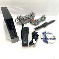 Wii Bundle w/ Super Smash Bros Brawl, 1 Controller, 1 Nunchuck, Cords - Tested!