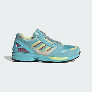 adidas Originals Womens ZX 8000 a legendary look shoes blue