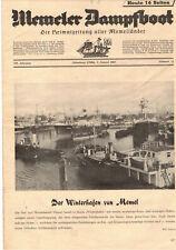 Memeler Steamboat Heimatzeitung Aller Memelländer 1957 Nr.15 (D8