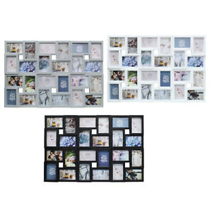 24 Photo Frame Large Family Multi Collage Aperture Wedding Picture Wall Hanging