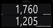 SmartCount by FacTrac: Production Counter Display Pack (22 Counters in 1)