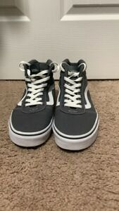 Womens Vans High Tops Gray Size 8 - Great Condition