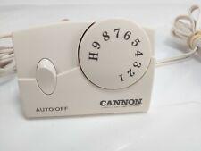 Cannon Electric Heat Blanket Controller Digital four prong Tc11Ba