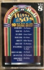 Rock N Roll Cassette Tape Hits of The 50's Vol 8