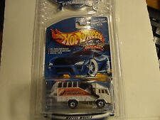 Hot Wheels 2001 Final Run White Garbage Truck w/Real Riders