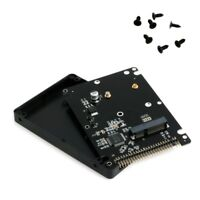 "mSATA to 2.5"" IDE HDD SSD mSATA to PATA Adapter Converter Card 44PIN with Case"