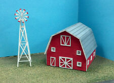N SCALE  ** Laser Cut **  Windmill & Barn Kit