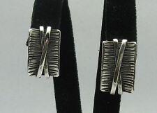 Boucles d'oreilles en argent sterling 925 Artisanal Neuf e000252 Impératrice
