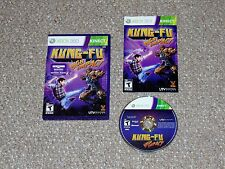 Kung-Fu High Impact Xbox 360 Complete Kinect Game
