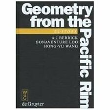 De Gruyter Proceedings in Mathematics: Geometry from the Pacific Rim :...