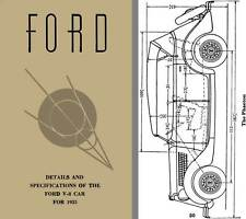 Ford 1935 - Ford Details & Specifications of the Ford V-8 Car for 1935