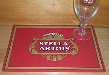 STELLA ARTOIS BEER BAR SPILL MAT GLASS COASTER NEW