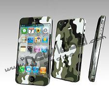 IPHONE 5 SKIN COVER ADESIVA STICKERS PELLICOLA PROTEZIONE 3D MIMETICA CAMOUFLAGE