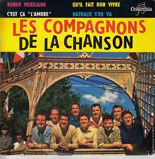 45TRS VINYL 7''/ FRENCH EP COMPAGNONS DE LA CHANSON / RONDE MEXICAINE + 3