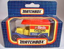 "Matchbox MB44 Ford Model ""T"" ""Bird's Custard"" Werbemodell"