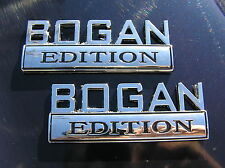 Hillbilly Edition Car Badge Chrome Metal Emblem Suit Ford F100 150 350