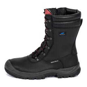 Mens' Panther About Blu Ranger 25042 00LA Waterproof Safety Zip/Lace Boot Black