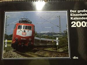 Alba Der große Eisenbahn Kalender 2002