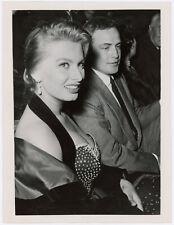 New listing Marlon Brando & Sophia Loren On the Waterfront Italian Screening Vint Photograph