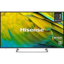 """Hisense H55B7500UK 55"""" Smart 4K Ultra HD TV with HDR10, Dolby Vision and Freevie"""