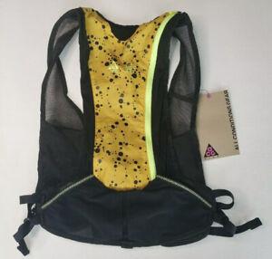 Nike Unisex ACG Hydration Race Vest Yellow Black Sz. S/M NEW NRLB0912SM RARE