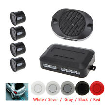Buzzer Audible Alarm Waterproof Car Parking Sensor 4 Sensors System - 5 Colors