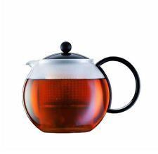 Bodum 1844-01 Assam Teebereiter Teekanne 1.0 Liter schwarz