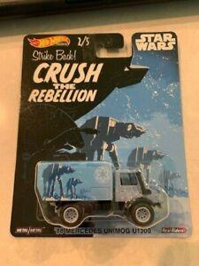 2020 Hot Wheels Star Wars Crush The Rebellion '88 Mercedes Unimog U1300 RR 2/5
