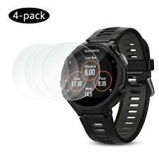 4 X Fits Garmin Forerunner 735XT Tempered Glass Protector Smart Watch Protection