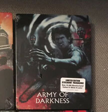 Army Of Darkness Shout Factory Steelbook New
