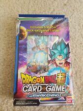 Dragon Ball Super Card Game - The Awakening Starter deck - SEALED