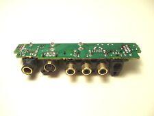 YAMAHA HTR-5460 AV RECEIVER - jack assembly - front panel