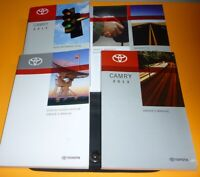 2013 TOYOTA CAMRY OWNERS MANUAL SET 13 + DISPLAY GUIDE L LE SE XLE I4 V6 +CASE