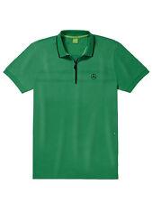 Mercedes-Benz GOLF Poloshirt Herren in grün-schwarz - von BOSS Green - Größe L