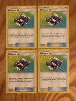 4x Pokemon Pokegear 3.0 - 182/214 SM - Unbroken Bonds - Uncommon NM!!!