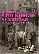 Report from Stockholm's Sex Swamp NEW PAL Documentary DVD Arne Brandhild