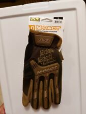 MECHANIX WEAR DIY M-Pact Open Cuff Large Mens Syn. Leather Multipurpose Gloves