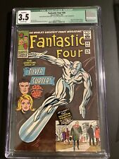 Fantastic Four #50 CGC 3.5 Qualified 3rd Surfer 1st Wingfoot -50%
