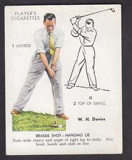 John Player - Golf 1939 (Overseas) - # 12 Brassie Shot - Hanging Lie
