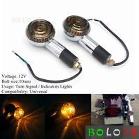 Turn Signal Light Amber Indicator For Yamaha XV920 Virago XVS650 V-Star XVS400