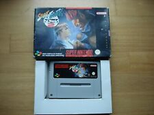 Street Fighter Alpha 2 Snes Super Nintendo FAH