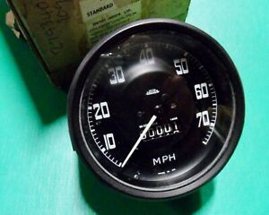 "NOS Land Rover Series 2 2a Speedo MPH 88"" 109"" 7.50x16 279340 GENUINE"