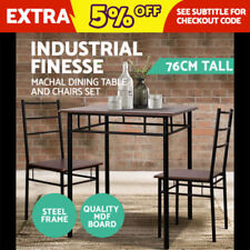 Industrial Wood Dining Tables