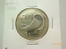 Fiji 20 Cents coin (2006) - UNC / BU