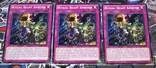 Yu-Gi-Oh SECE-EN074 Ritual Beast Ambush Common X3 Playset 1st edition