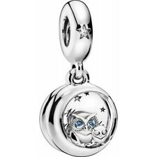 New Genuine 'Always -Brand 798398NBCB Pandora by your side OWL' Dangle Charm UK