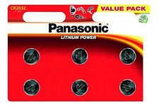 3 x Panasonic CR2032 3V Lithium Coin Cell Battery DL/BR 2032